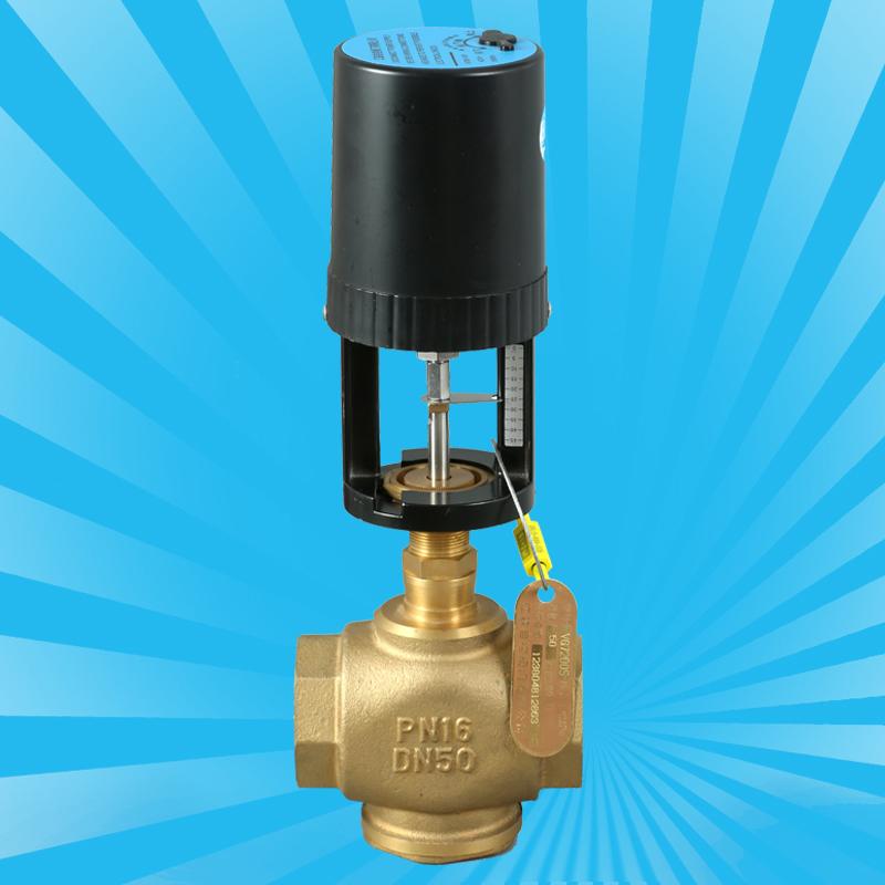 VA7200黄铜丝口电动二通阀